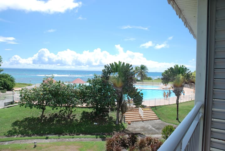 Studio vue mer paradisiaque Promo Mai / Juin - Saint-François - Apartament
