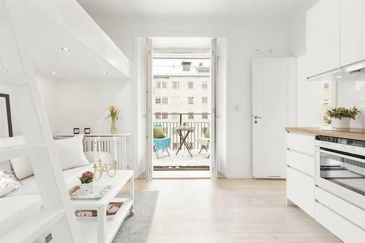 Cozy apartment located in centrala Stockholm