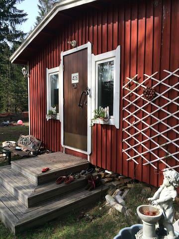 Маленький лесной домик - Valkeala - Talo