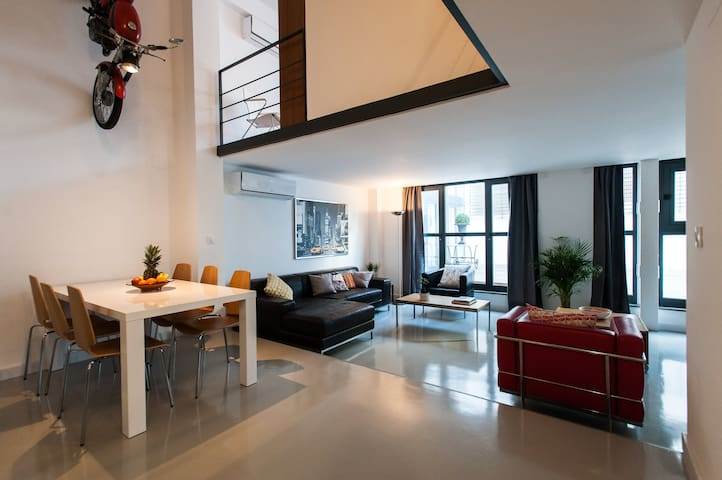 DESIGN DUPLEX  with POOL wifi A/A (VFT/SE/1105) - Siviglia - Loft