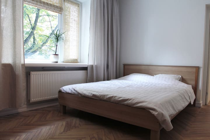 Large 3-room apartment close to Old Town