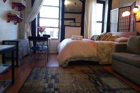 Entire place in bedstuy mins to downtown manhattan - Brooklyn - Appartement