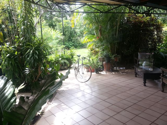 Beautiful house with big garden - San José - Ev
