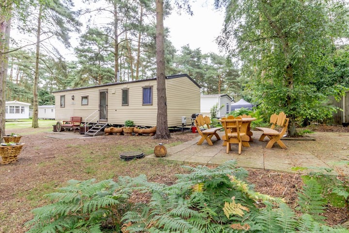 8 berth caravan for hire in a prime spot at Wild Duck Haven Norfolk ref 11266GC