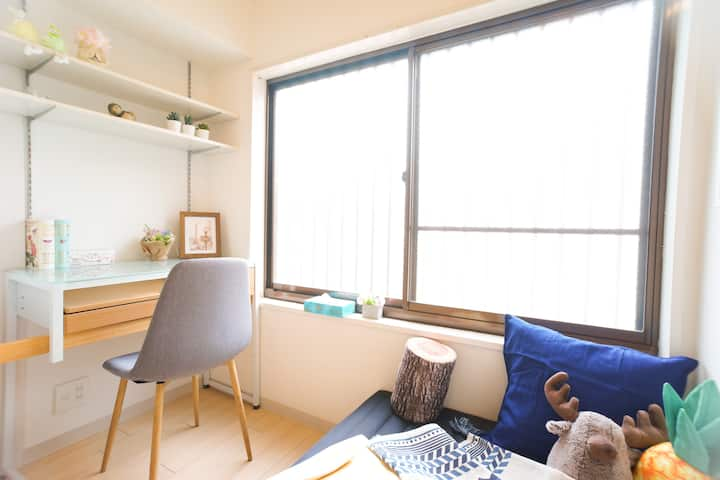 Osaka's independent house  Accommodate 7 people