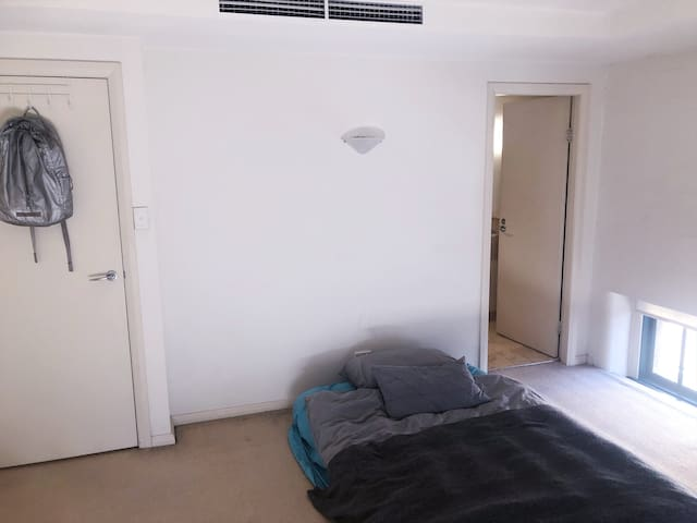 Simple Bedroom in the middle of Sydney