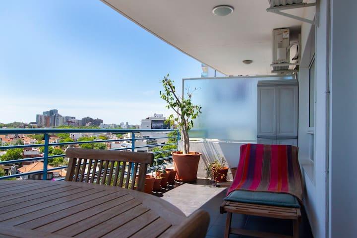 Departamento luminoso balcón Increíble vista Nuñez