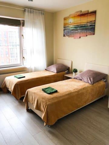Квартира-студия на Бачуринской