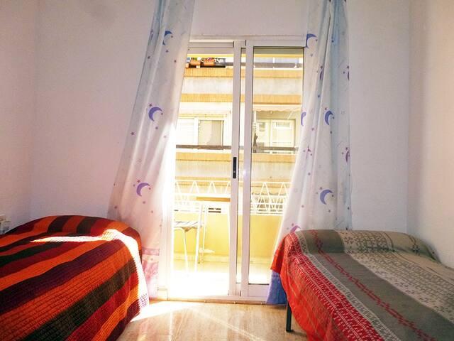 Habitación Doble con Terraza al Exterior