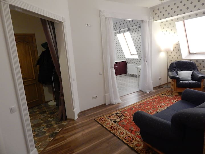 Room in the city center / Комната в центре города