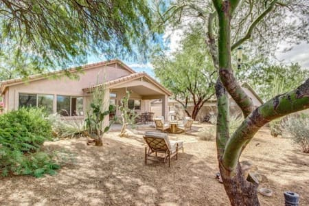 Entire 3 Bed house backing desert in Gold Canyon! - Gold Canyon