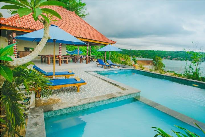 Luxury 1BR Villa 1 at Lembongan Island - Starfish
