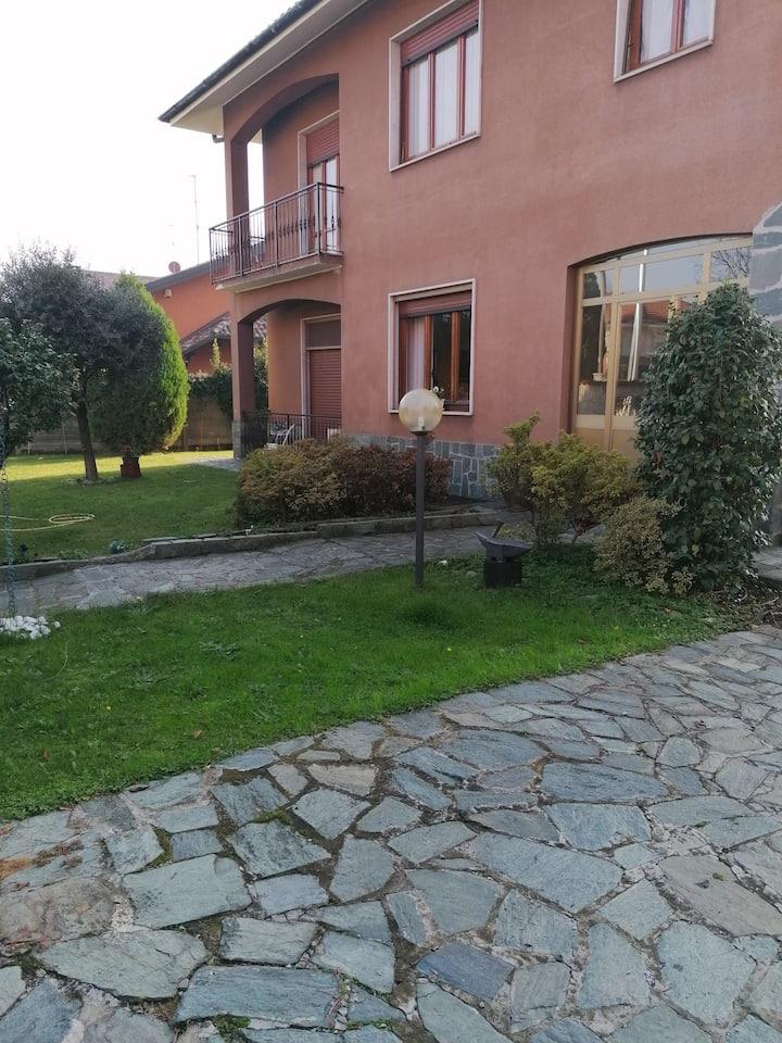 Una casa, un giardino e tanta pace