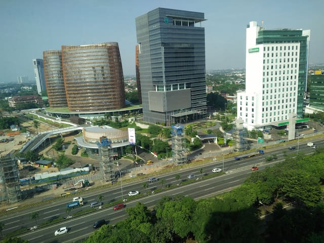 Great view of South Jakarta! :-)
