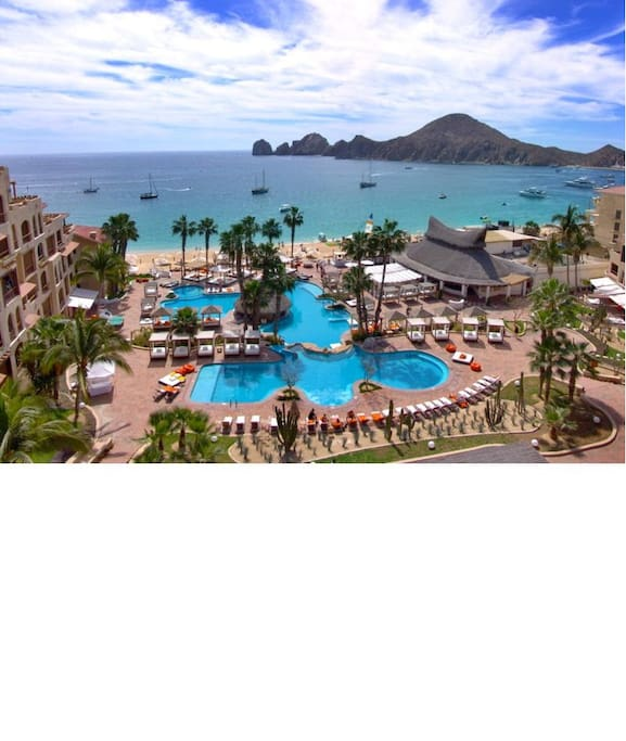 Ariel view of ME - Cabo