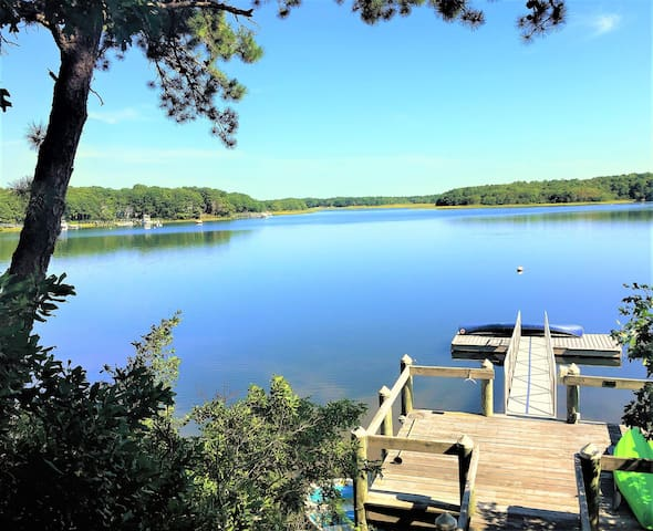 New Seabury Oceanfront home with private dock - 馬什皮(Mashpee) - 獨棟