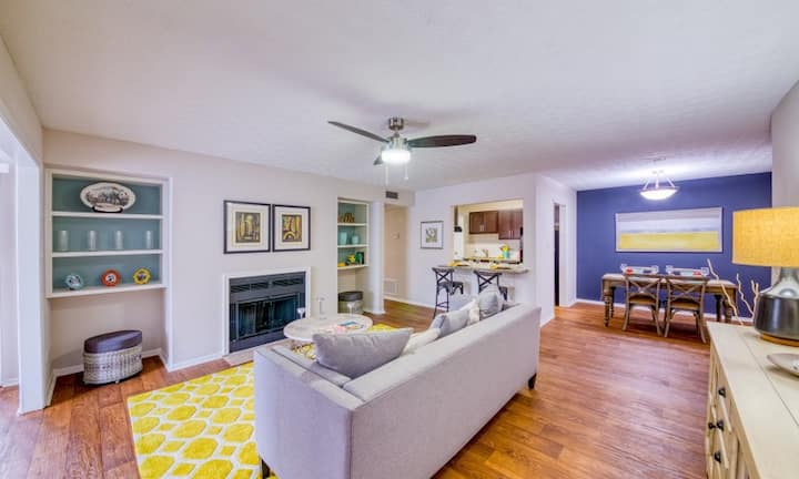 Live + Work + Stay + Easy | 3BR in Decatur