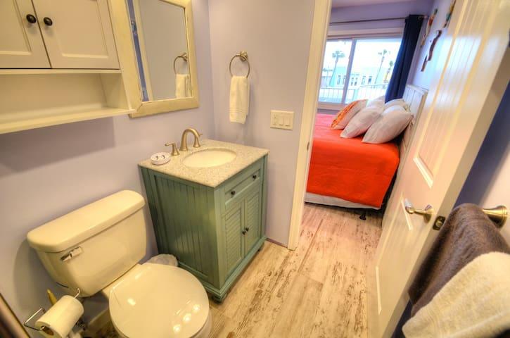 Bath off bedroom!