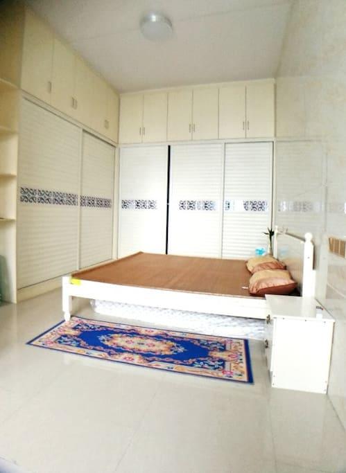 温馨的卧室,家一样的感觉