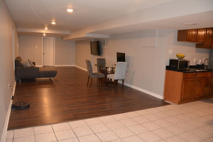 Renovated Basement with Private Entrance