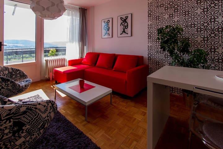 Modern 1+1 apartment