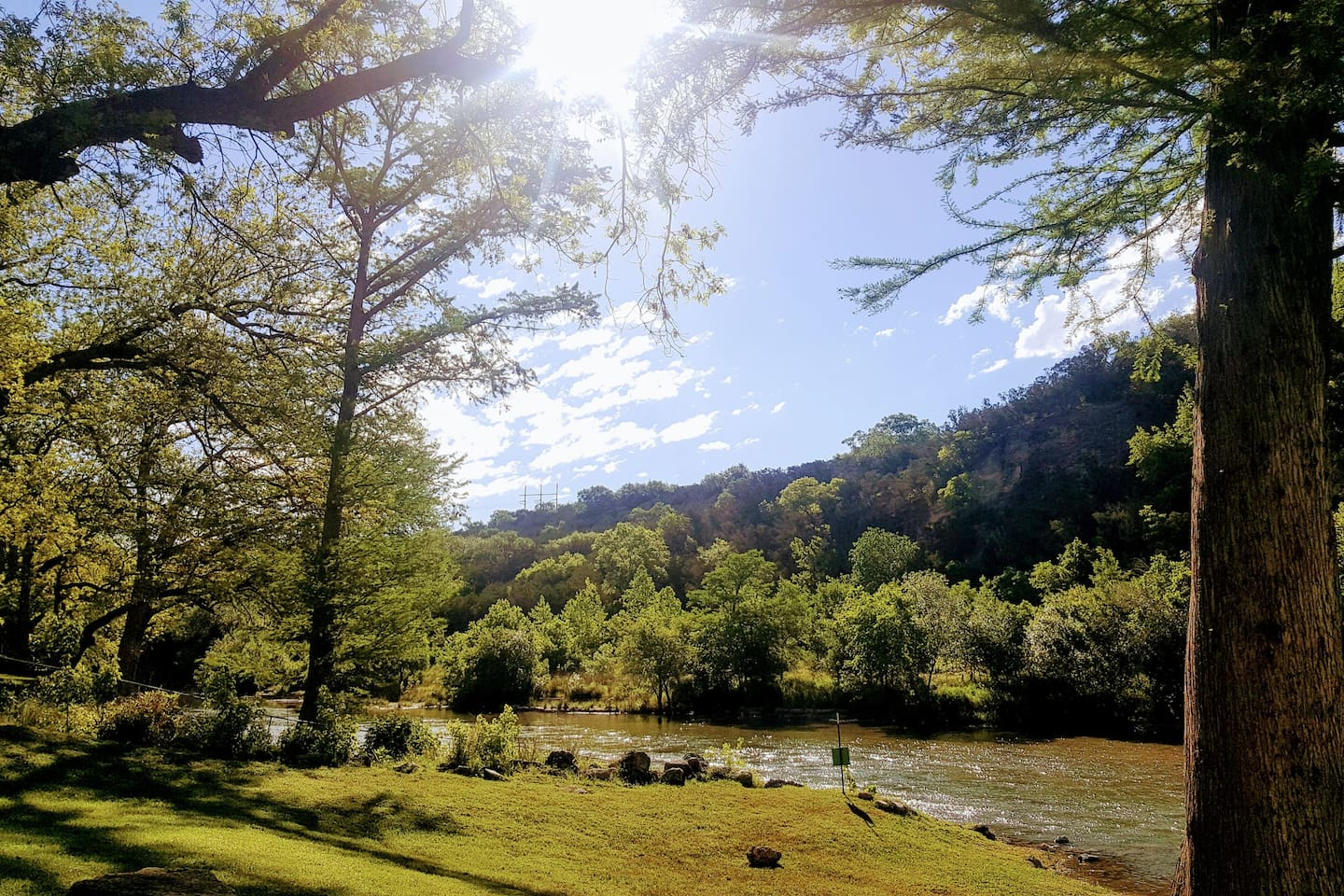 You deserve a peaceful getaway that only the beauty of the Guadalupe River can offer.