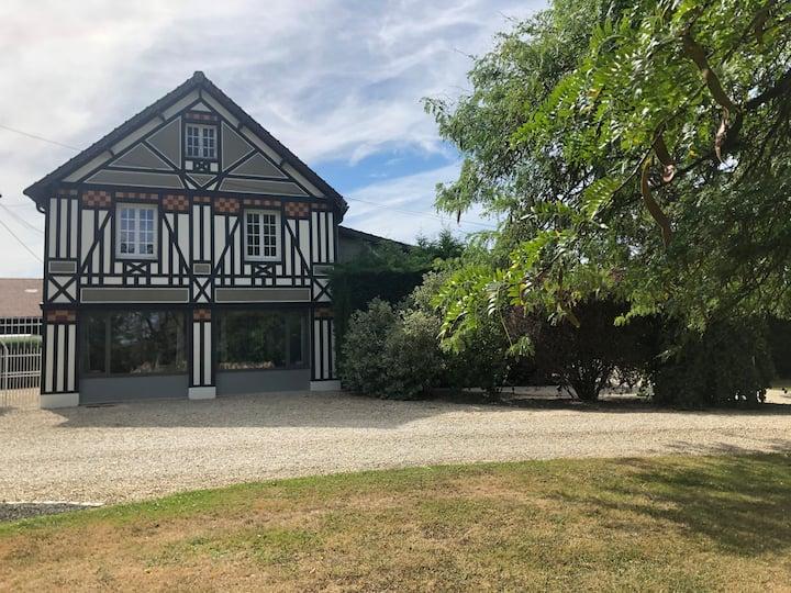 Villa Hortensia grands espaces charme calme wifi