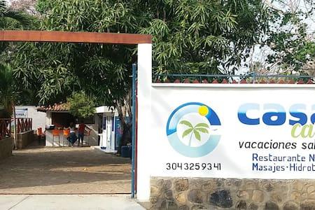 CASA CARIBE - Wellness & Lifestyle - Playa Mendoza - Tubará - Haus