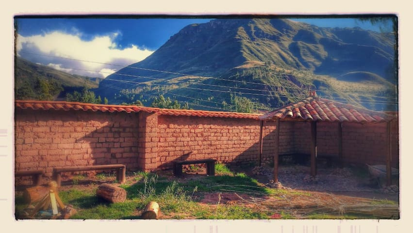 A Private room in Secluded spot near Pisac