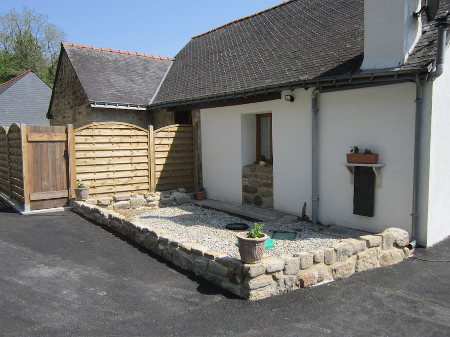 Outside view of the cottage