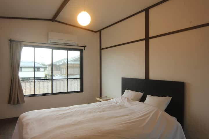 【新規OPEN ! !】淡路島西海岸の宿 梅木屋 ダブルルームおしどり 砂浜まで徒歩5分