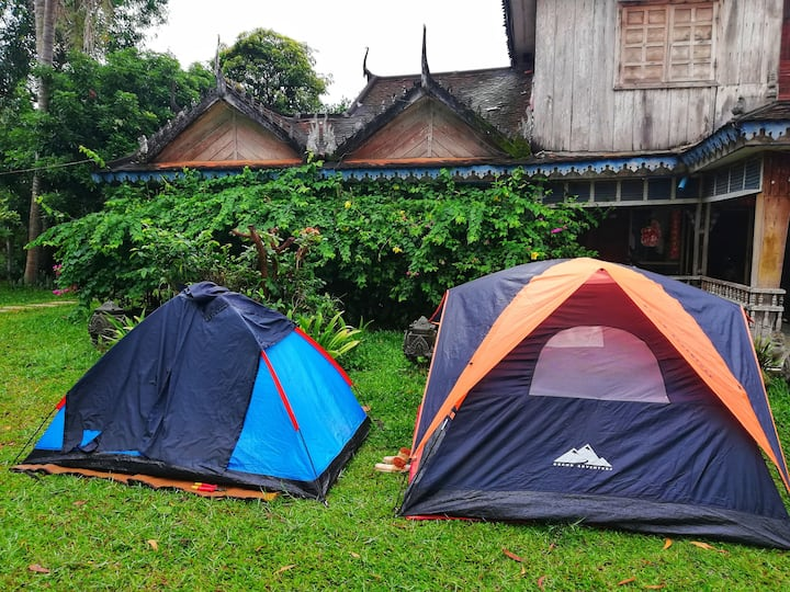 Tent Camping near East Baray
