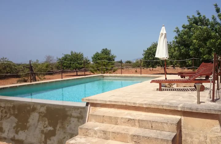 Holiday Home Son Sunyer with Mountain View, Wi-Fi, Pool, Garden, Balcony & Terrace; Parking Available