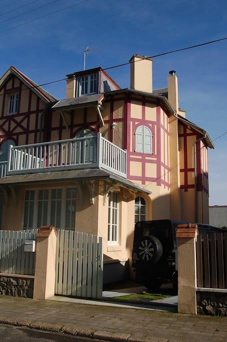 Belle villa touquettoise