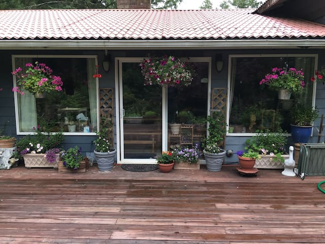 Private,landscaped,water view - Ketchikan - Talo