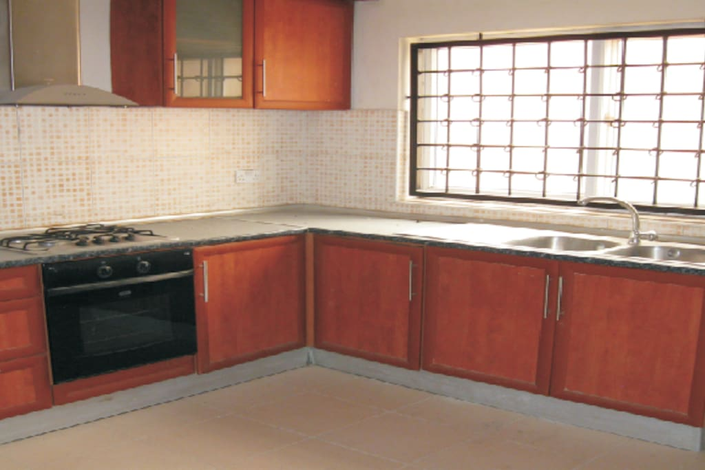 Fully furnished Kitchen with Balcony