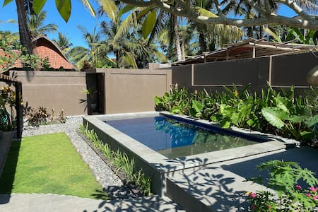 Amazing Teak Wood Villa with Pool-1 minute to Surf