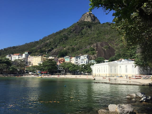 Cosy Double Room in Urca - Sea view