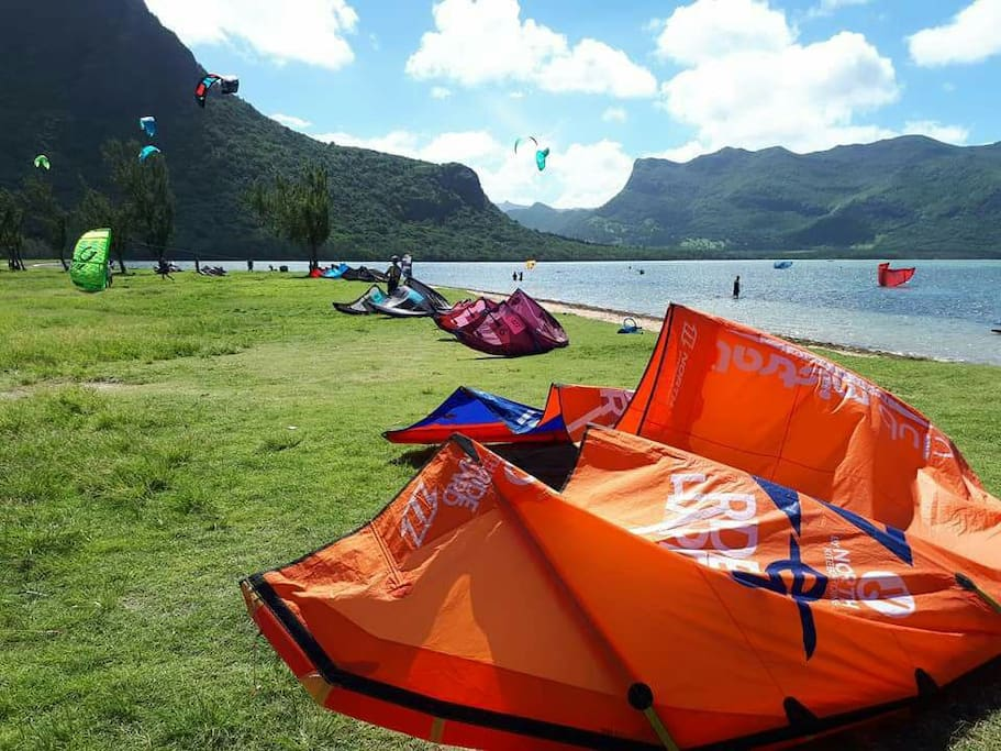 Le Morne  Kite lagoon  Approx 10 mins drive from Equinox Kite Villas