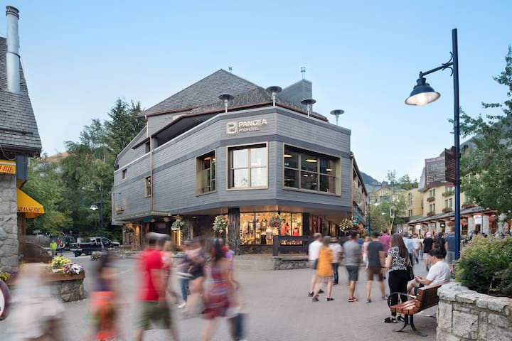 Designer POD (Single) – centre of Whistler Village