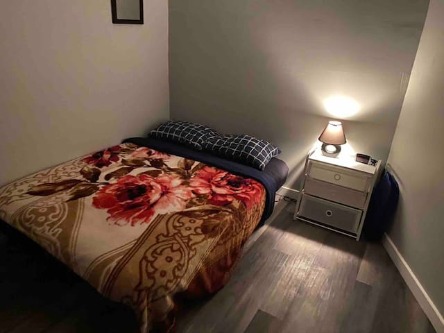 Your private bedroom bed