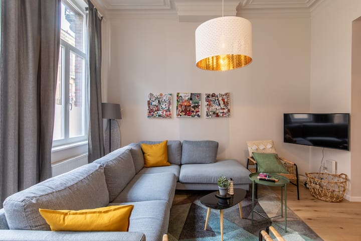 Private room in a trendy house in Brussels: Room 2