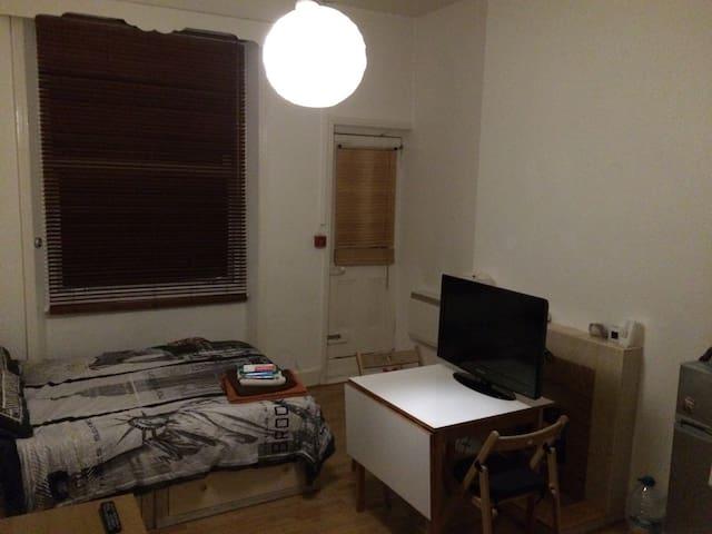 Bright Spacious DBL Studio flat