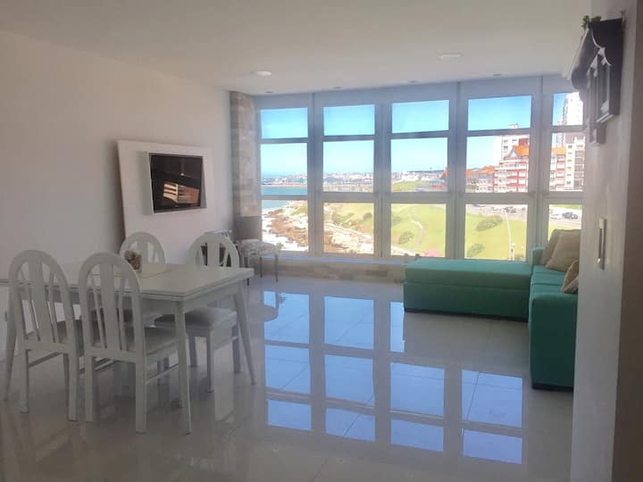Espectacular departamento con vista al mar!!