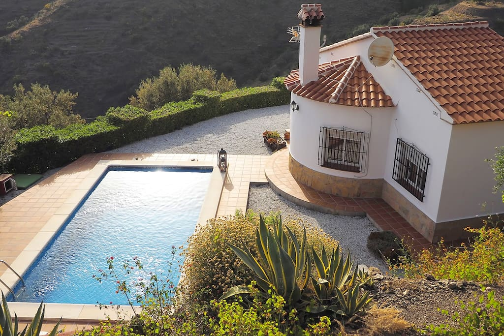 Maison avec piscine priv lantana maisons louer - Maison avec piscine espagne ...