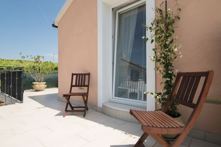 2-bedroom Istrian house with terrace