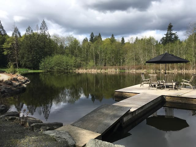 Ambraden Pond - Cobble Hill - Gæstehus