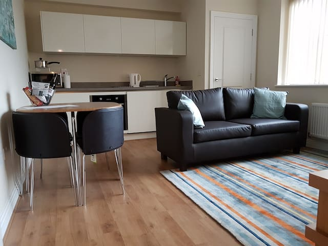 Brand New One Bedroom Apartment - West Drayton - Huoneisto