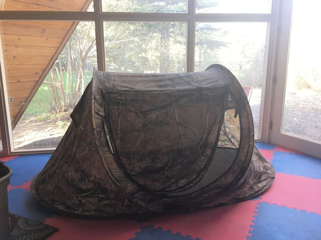Small Tent in Paradise