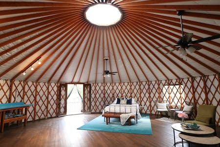 Stylish Yurt